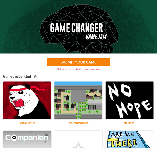 Game Changer Game Jam